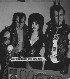 Elvira + Misfits <3 <3 <3