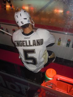 Pittsburgh Penguins Defense Player Deryk Engelland - I could play flirty eyes with you all night...OH WAIT, I did ;)