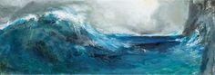Π.Τέτσης Greek Paintings, Waves Photography, 10 Picture, Greek Art, Ocean Waves, Love Art, Illustration Art, Illustrations, Art Gallery
