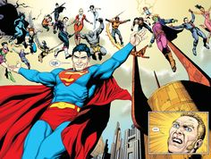 Top 10 DC 'Rebirths' by GEOFF JOHNS
