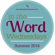 Welcome everyone! This is our Introduction for In the Word Wednesdays! This is our first online Bible study here at Making It Real Ministries. We'd love for you to join us! www.MakingItRealMinistries.com