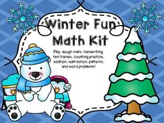 Winter Math Kit