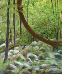 Big Creek, 2007— 8x12 oil on panel, $75-unframed
