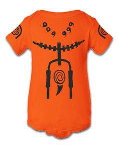 Naruto Kyuubi Character Onesie Infant Baby by TeeTeeMonster