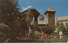 Vintage Travel Postcards: Magic Kingdom, Fantasyland Skyway, @ Disney World  1970's ?