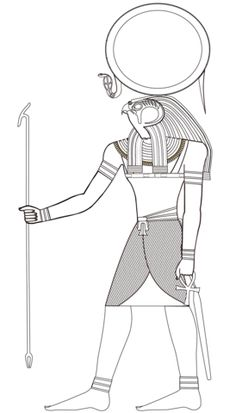 Egyptian God Ra coloring page from Egyptian Mythology category. Select from 31983 printable crafts of cartoons, nature, animals, Bible and many more. Egyptian Mythology, Ancient Egyptian Art, Ancient History, Art History, European History, Ancient Aliens, Ancient Greece, American History, Egyptian Drawings