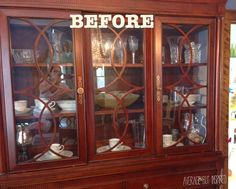 How To Display Crystal Glassware And China Home
