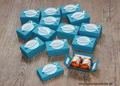 Ich bekam vor ein paar Wochen eine Nachricht einer lieben Dame, die auf der Suche nach schönen Gastgeschenken über Bilder meiner Küsschen-Schachteln gestolpert war und diese gerne für die Kommunion…