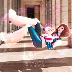 Looking for Ochako Uraraka cosplay wigs? L-email Wigs store supply quality my hero academia cosplay wigs for Ochako, Izuku, etc Cosplay Anime, Uraraka Cosplay, Cosplay Lindo, Cute Cosplay, Amazing Cosplay, Cosplay Outfits, Best Cosplay, Cosplay Costumes, Cosplay Style