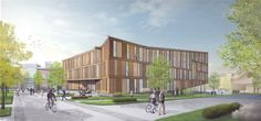Bringing together the previously dispersed departments of Landscape Architecture, Architecture, and Building Technology programs, the new Design Building will be a dynamic space of exchange, collaboration, and experiment, celebrating a