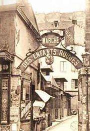 Marché des Enfants Rouges in the Marais is the oldest food market in Paris.