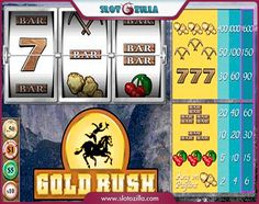 Gold Rush Slot free #slot_machine #game presented by www.Slotozilla.com - World's biggest source of #free_slots where you can play slots for fun, free of charge, instantly online (no download or registration required) . So, spin some reels at Slotozilla! Gold Rush Slot slots direct link: http://www.slotozilla.com/free-slots/gold-rush-slot