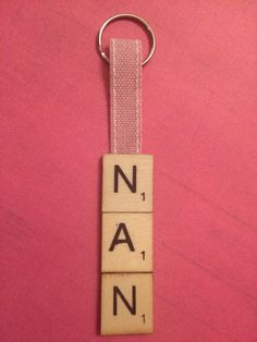10 best unique scrabble tile gifts keyrings images on pinterest