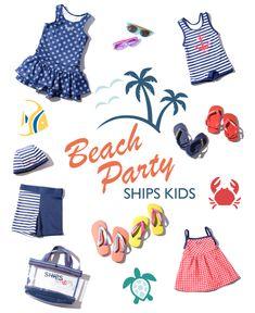 SHIPS KIDS Beach Party