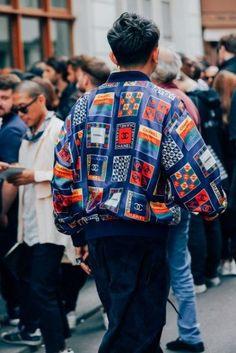 Most Stylish Men at Paris Fashion Week The Best Street Style from Paris Fashion Week Photos Men's Street Style Paris, Street Style Trends, Cool Street Fashion, Paris Style, High End Fashion, Look Fashion, Paris Fashion, Fashion Design, Fashion Trends
