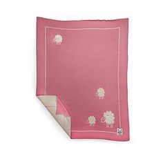 Babydecke aus zarter Lammwolle, rosa Presents, Pink, Lamb, Products, Gifts, Favors, Gift