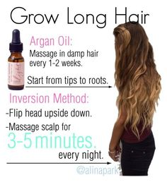 """""""How To Get Long Hair Fast"""" by alinapark on Polyvore"""