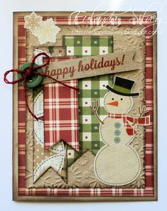 """handmade christmas card ideas 
