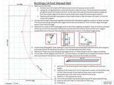 One Sheet DIY Instructions For Building A Fourteen Foot Warped Wall As Seen On The NBC G4 Esquire Show American Ninja Warrior