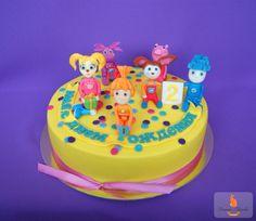 Барбоскины,  детский торт, child cake, fondant topper cake, cake barboskiny, kid cake ideas, Pepa cake, Фиксики, fondant animals, fondant figures, Fondant Cake Topper