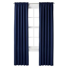 Room Essentials® Thermal Curtain Panel - Navy Blue