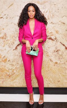 Color Wars: Solange's 25 Best Outfits Of All Time via @WhoWhatWear