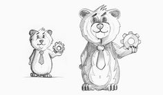 Characters created in 2011-12 on Behance
