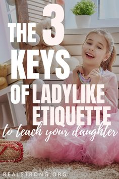 Want to teach your daughter proper ladylike etiquette? If you are looking for how to teacher manners and ladylike behavior to your child, this is the best printable etiquette course or curriculum for homeschool to teach children manners and ladylike etiquette. Includes lessons on how to sit like a lady, how to serves proper tea and so much more! Raising Godly Children, Raising Daughters, Raising Girls, Gentle Parenting, Parenting Teens, Parenting Hacks, Etiquette And Manners, Act Like A Lady, Christian Parenting