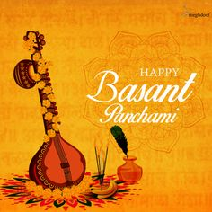 May the occasion of Basant Panchami, Bring the wealth of knowledge to You! May You be blessed by Goddess Saraswati! All Your Wishes Come True. Be the Happiest Soul this Basant Panchami Festivals Of India, Indian Festivals, Saraswati Goddess, Board Decoration, Knowledge And Wisdom, Diwali Decorations, Good Morning Images, Design Development, A Team