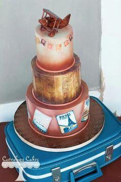 Travel Cake Art
