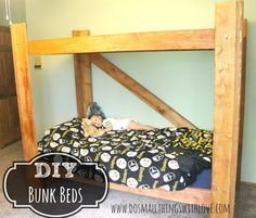 DIY Bunk Beds - Do Small Things with Love