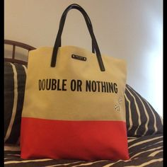 Kare Spade Taft street Roll The Dice Bon Shopper List price MSRP -145.00 excellent new like condition. Very clean ❤️colors beige and geranium kate spade Bags