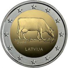 Letonia 2€ cc 2016 – Sector Agrario Letón