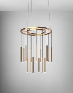 Stunning statement brass pendant light. This would look fantastic hung low above a dining room table or kitchen island.
