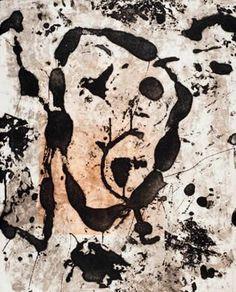 """Joan Miró. Grabado al Aguafuerte y Aguatinta. """"Rupestre V"""". 1979. 76 x 56 cm (a sangre). Tirada de 30 ejemplares. Numerado y firmado a mano. Dupin num. 1039. Precio: 5.000 €"""