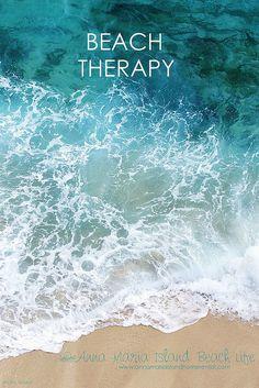 Esta é a melhor terapia. E é de graça!  Fotografia: annamariaeslandhomerental no Flickr.