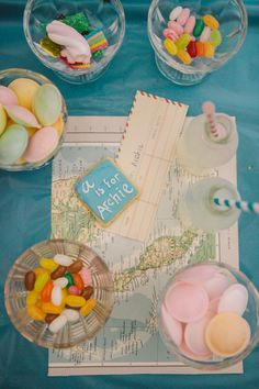 Little explorer theme for a first birthday party.