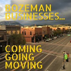 So much going on in our little Bozeman!!