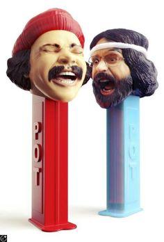 Cheech & Chong PEZ dispensers