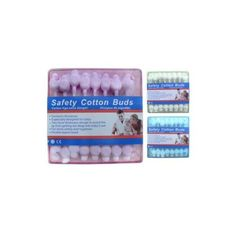 Cotton Buds Assorted Colors 24 Packs of 50 by FindingKing. $59.99
