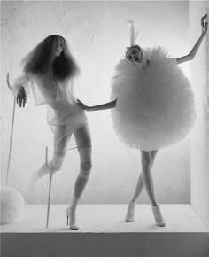 Photographer: Tim Walker  Models: Alice Gibb, Olga Sherer  Cecil Beaton inspired!