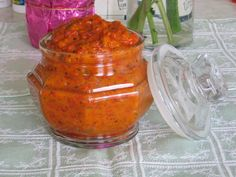 Try These Serbian Fasting Recipes: Serbian Roasted Eggplant-Pepper Spread Recipe - Ajvar