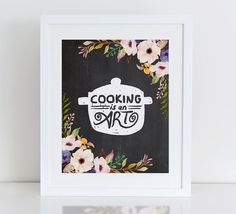 Impresión del arte de cocina instante descargar por DecorartDesign