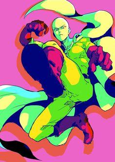 One Punch Man - Saitama Saitama Sensei, Bored Of Life, One Punch Man Poster, Punch Club, Saitama One Punch Man, Otaku, Anime Fight, Anime Character Drawing, Anime Girls