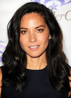 Pin for Later: Sexy Celebrity Beach Waves For Every Hair Length Olivia Munn
