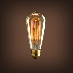1920 Vintage Edison bulb ST64 - Your Wish Store