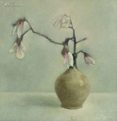 Pieter Knorr Soft Colors, Colours, Canvas Paper, Painting Inspiration, Flower Art, Still Life, Sketching, Illustrations, Artist