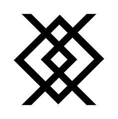 Rune Tattoo, Norse Tattoo, Viking Tattoos, Rune Symbols, Small Tattoos For Guys, Native American Pottery, Ukrainian Art, Celtic Art, Monogram Logo