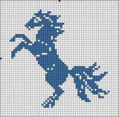 one colour cross stitch ile ilgili görsel sonucu Cross Stitch Horse, Small Cross Stitch, Cross Stitch Baby, Cross Stitch Animals, Cross Stitch Designs, Cross Stitch Patterns, Filet Crochet Charts, Knitting Charts, Cross Stitching