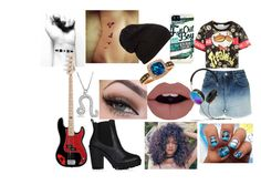 """""""grudge"""" by tyner1125 on Polyvore featuring Topshop, Frends, LE VIAN and Bling Jewelry"""